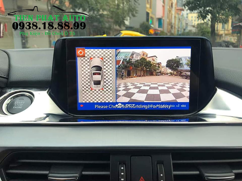 Camera 360 DCT Cho Xe Mazda 3