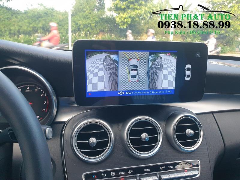 Camera 360 DCT Cho Xe Mercedes C200 2017