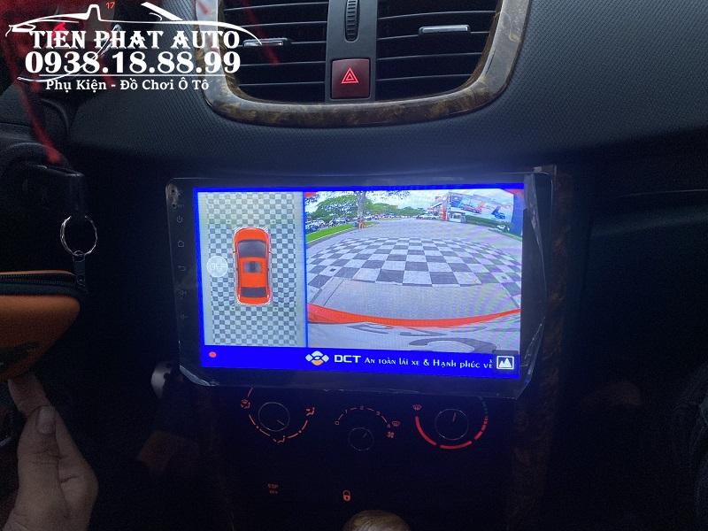 Camera 360 DCT Cho Xe Peugeot 208