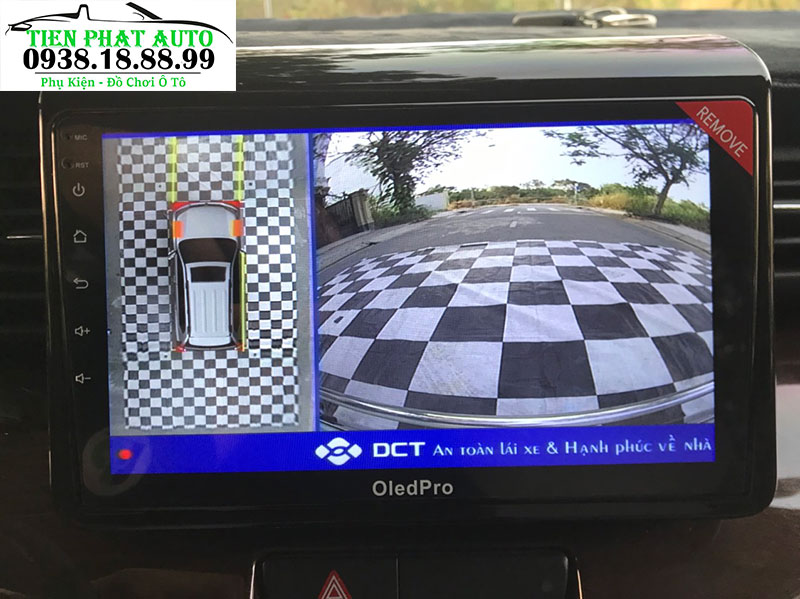 Camera 360 DCT Cho Xe Suzuki Ertiga