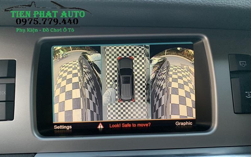 Lắp Camera 360 DCT Cho Audi Q7