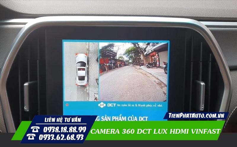 Camera 360 DCT Lux Cho Vinfast Màn Hình Zin