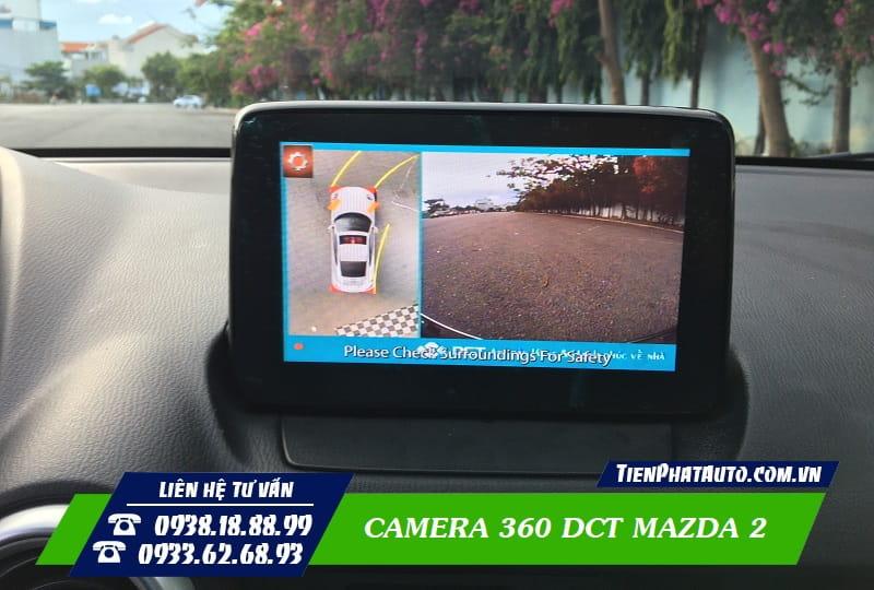 Camera 360 DCT Mazda 2
