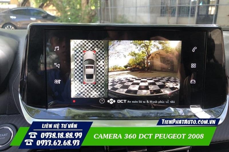Camera 360 DCT Peugeot 2008