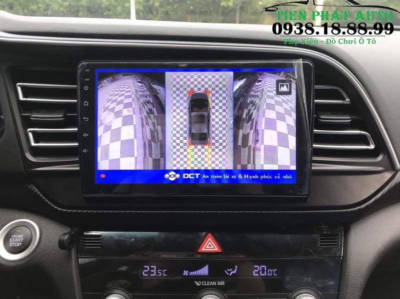 Camera 360 DCT Cho Xe Hyundai Elantra 2020
