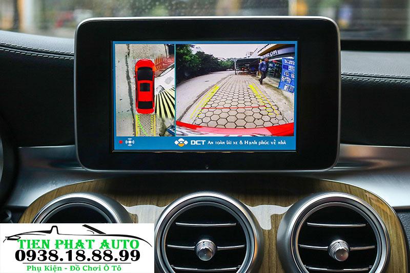 Camera 360 Độ Cho Xe Mercedes C250 2019