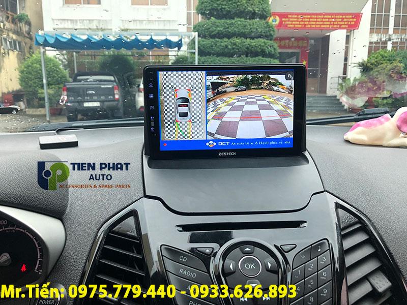 Camera 360 Độ DCT Chính Hãng Cho Ford Ecosport 2015 – 2019 Tại Quận Tân Bình