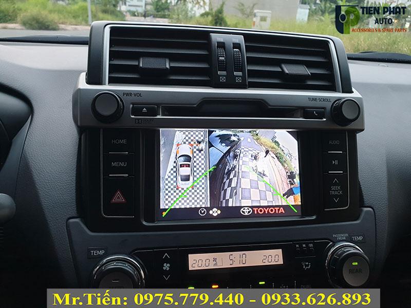 Camera 360 DCT Bản T3 Cao Cấp Cho Toyota Prado