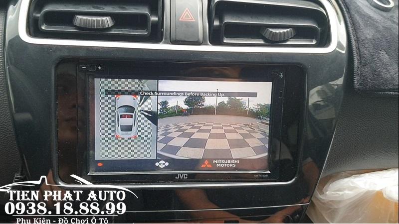 Camera 360 DCT Cho Xe Mitsubishi Attrage 2020