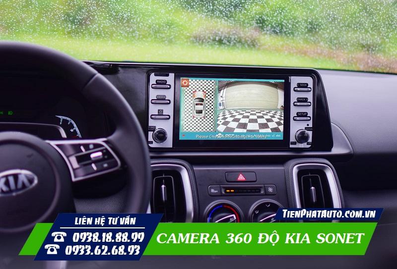 Lắp Camera 360 Độ KIA SONET