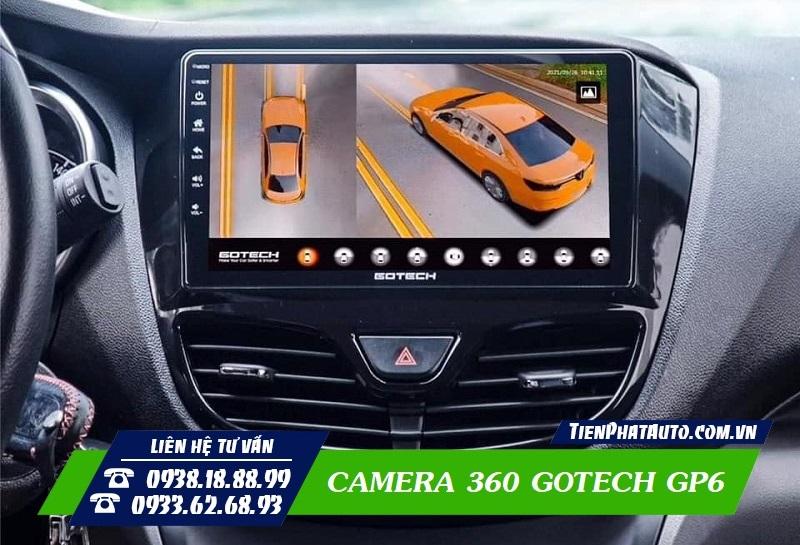 Camera 360 GOTECH GP6