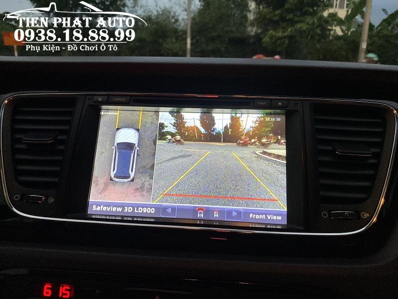 Camera 360 Safeview 3D LD900 Cho Xe Kia Sedona