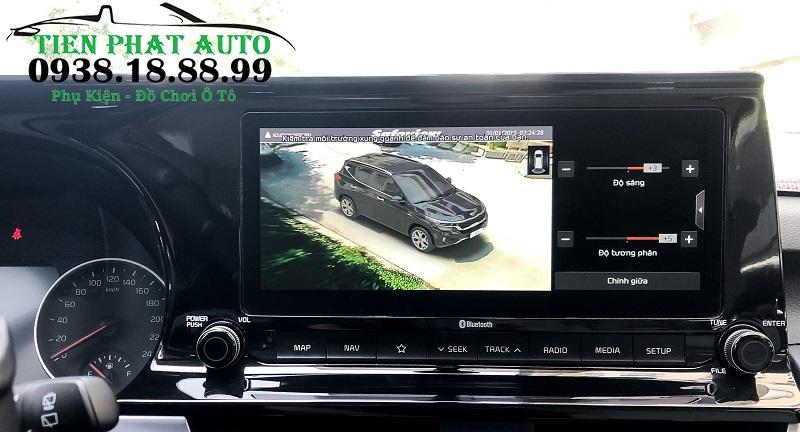 Camera 360 Safeview LD980 Cho Xe Kia Seltos