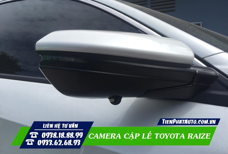 Camera Cập Lề Toyota Raize