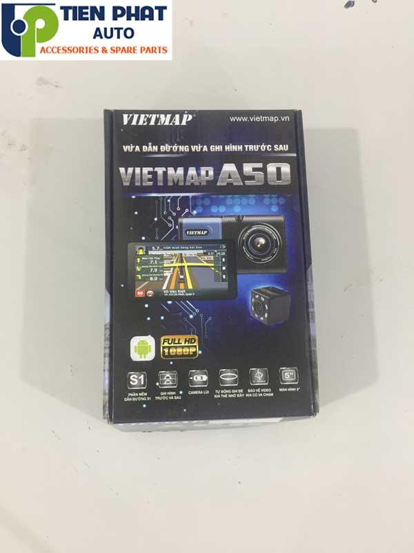 Camera Hành Trình Tích Hợp Dẫn Đường Vietmap A50 Cho Mazda BT-50