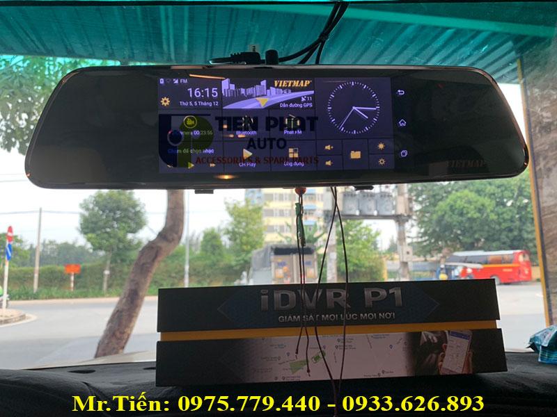 Camera Hành Trình Vietmap iDVR P1 Kiêm Dẫn Đường