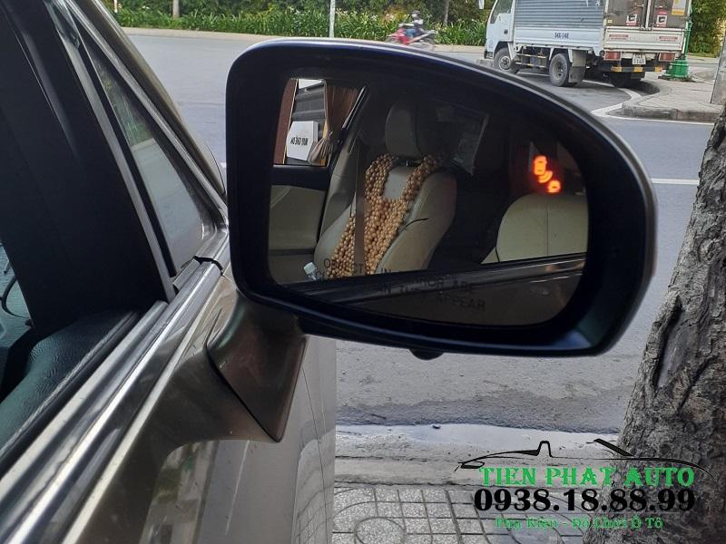 Cảnh Báo Điểm Mù Cho Xe Toyota Venza