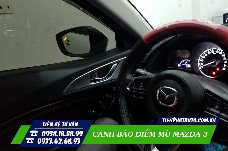 Cảnh Báo Điểm Mù Mazda 3