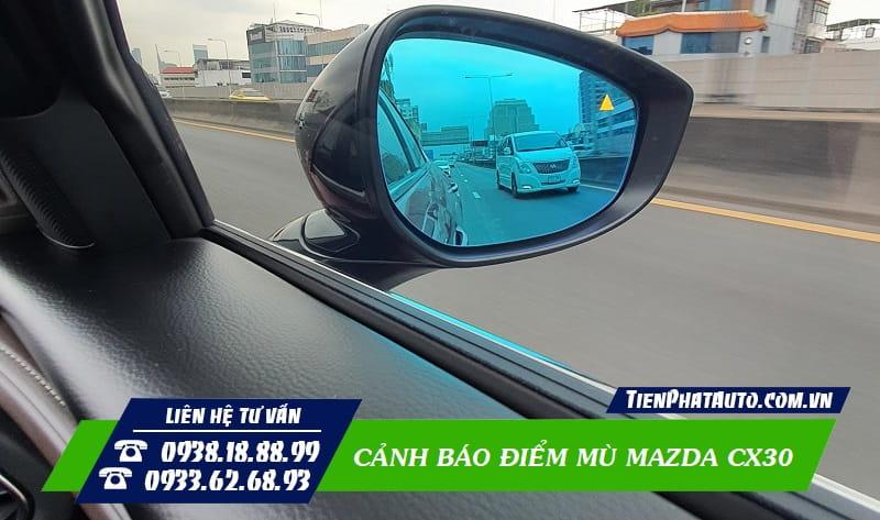 Cảm Biến Cảnh Báo Điểm Mù Mazda CX30