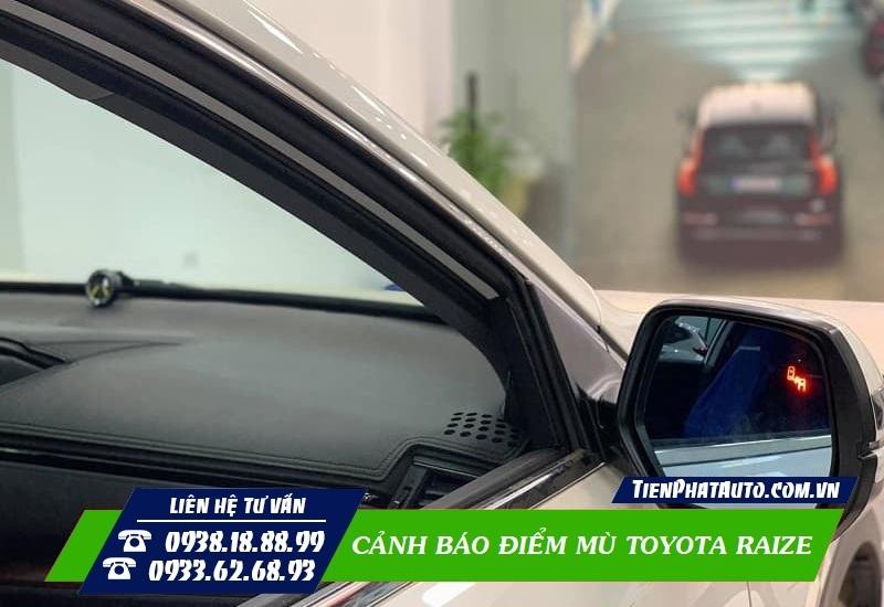 Cảnh Báo Điểm Mù Toyota Raize