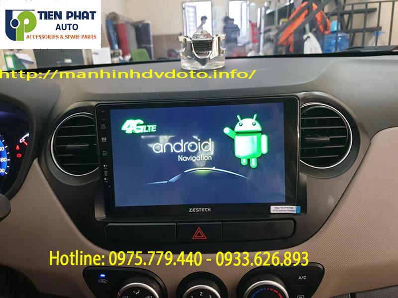 Chuyên Gắn Màn Hình DVD Android Xịn Nhất Cho Xe Huyndai I10 Tại Quận Tân Bình