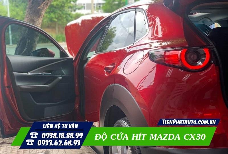 Độ Cửa Hít Mazda CX30