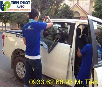 Dán Phim Cách Nhiệt Cao Cấp Cho Xe Nissan Livina Tại Tiến Phát Auto