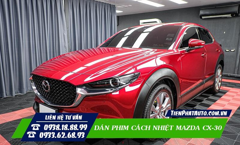 Dán Phim Cách Nhiệt Mazda CX-30