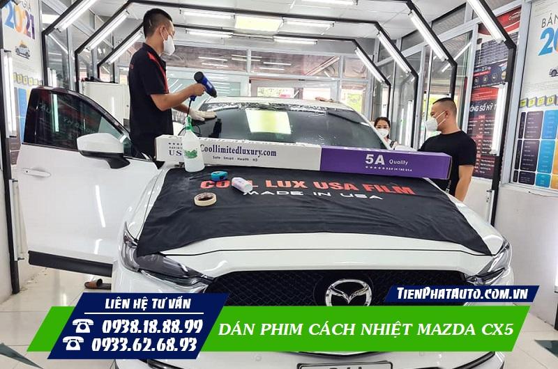 Dán Phim Cách Nhiệt Mazda CX5
