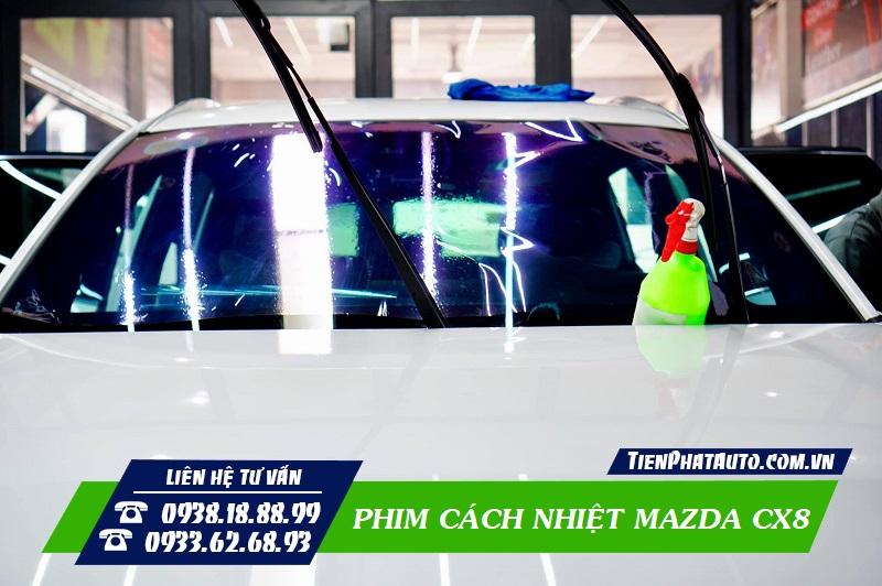 Dán Phim Cách Nhiệt Mazda CX8