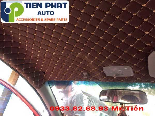 Dán Trần La Phông 5D Cho Mitsubishi Mirage Tại Tp.Hcm Lắp Đặt Tận Nơi