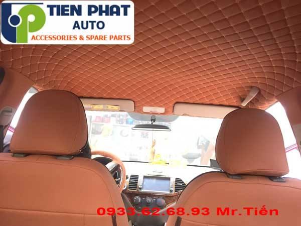 Dán Trần La Phông 5D Cho Toyota Vios Tại Tp.Hcm Lắp Đặt Tận Nơi