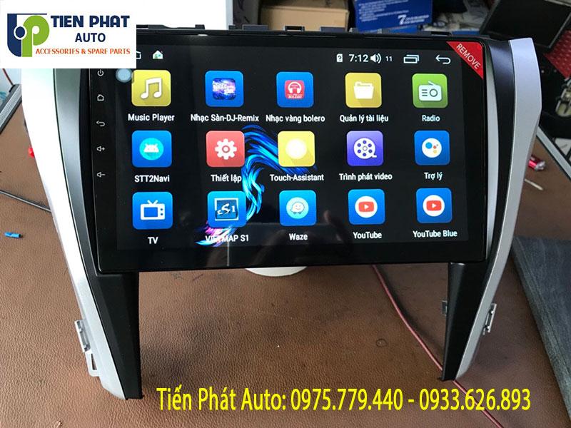 Địa Chỉ Uy Tín Lắp Đặt Màn Hình Android Cắm Sim 4G Cho Xe Camry 2019 Tại Quận Tân Bình