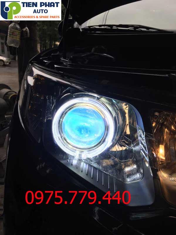Độ Bi Cầu Domax Xenon Aozoom FBL Tăng Sáng 300% Cho Mitsubishi Pajrero Sport Bảo Hành 3 Năm