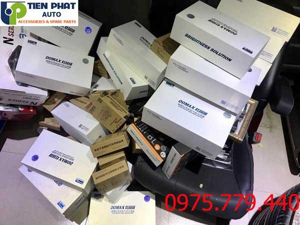Độ Bi Cầu Domax Xenon Aozoom FBL Tăng Sáng 300% Cho Mitsubishi Zinger Bảo Hành 3 Năm