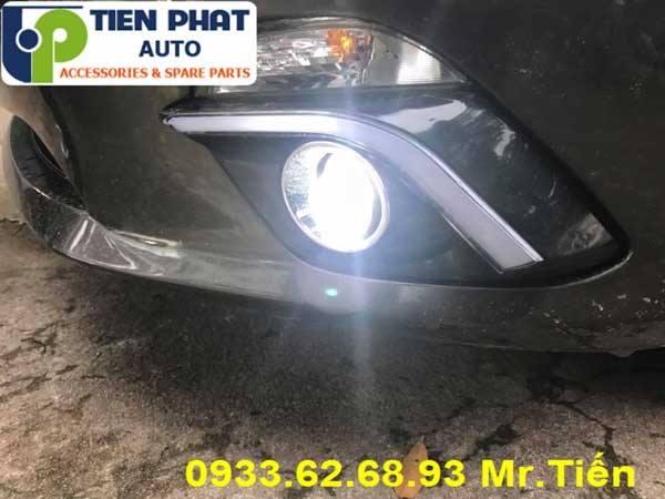 Độ Bi Đèn Gầm Cho Xe Mazda 2 2017 tại TP HCM Lắp Đặt Tận Nơi