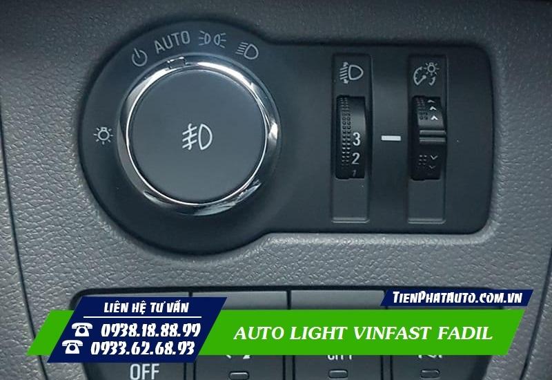 Độ Công Tắc Auto Light Cho Vinfast Fadil
