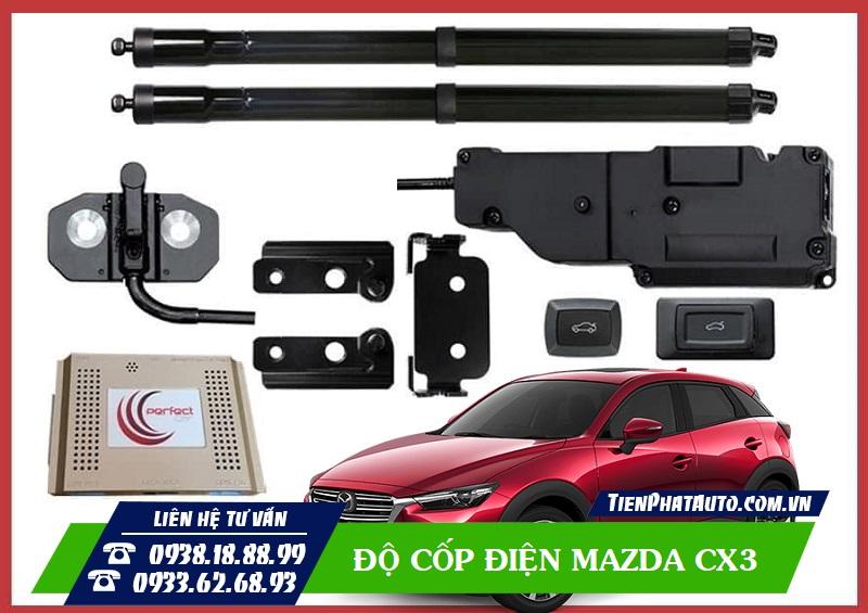 Độ Cốp Điện Mazda CX3