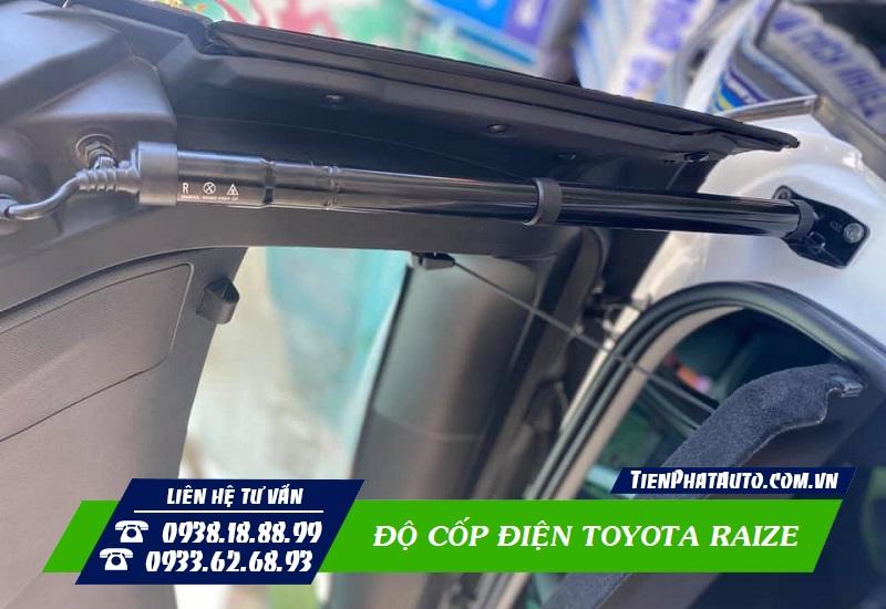 Độ Cốp Điện Tự Động Toyota Raize