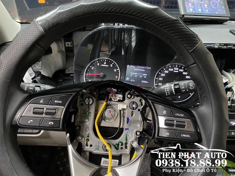 Độ Cruise Control Và Speed Limit Cho Xe Kia Seltos