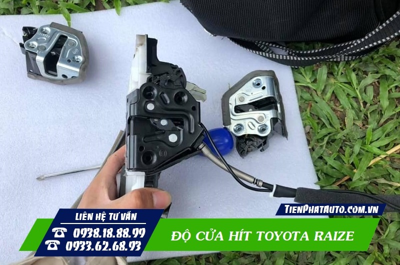 Độ Cửa Hít Toyota Raize