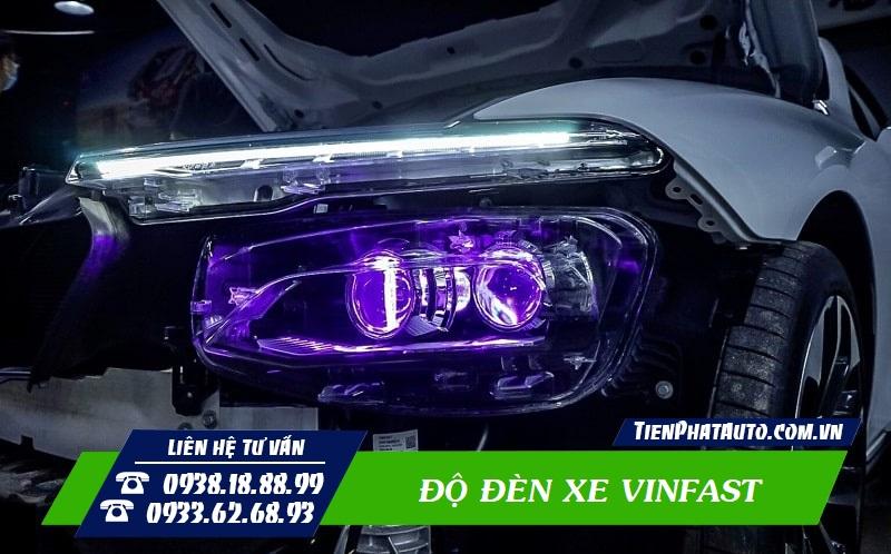Độ Đèn Vinfast Lux A - SA - Fadil