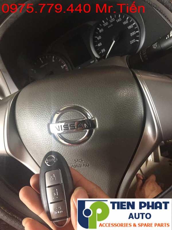 Độ Nút Đề Nổ Chìa Khóa Thông Minh Cho Nissan Navara
