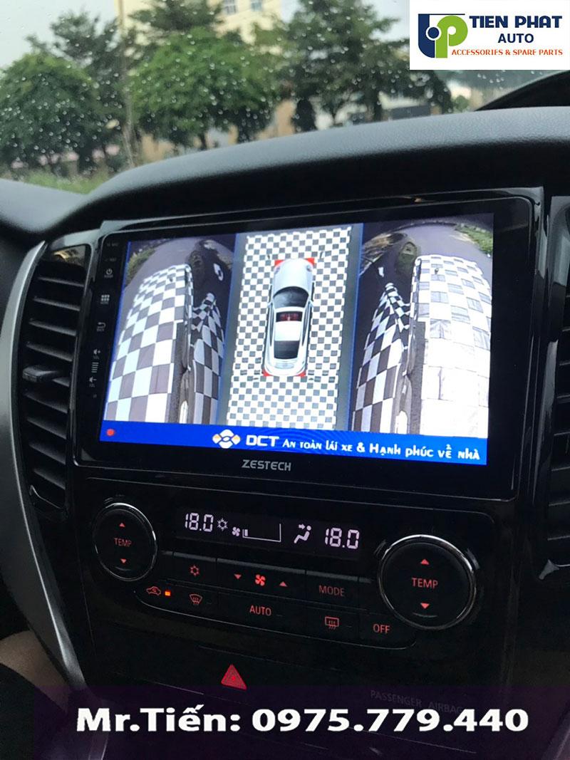 Đơn Vị Thi Công Camera 360 Độ DCT Chuyên Nghiệp Nhất Cho Xe Pajrero Sport Tại TP.HCM