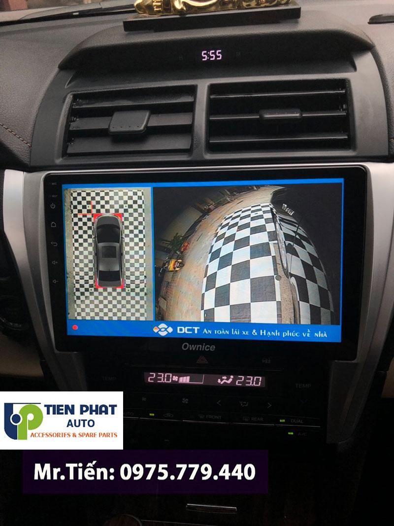 Gắn Camera 360 Độ Loại Nào Tốt Nhất Cho Xe Toyota Camry?