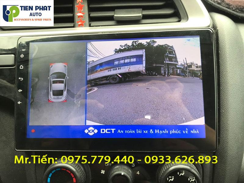 HONDA JAZZ LÊN CAMERA 360 DCT SIÊU NÉT TẠI TIẾN PHÁT AUTO