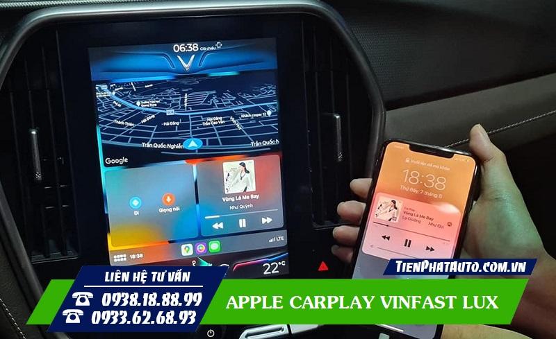 Hướng Dẫn Cách Cài Đặt Apple Carplay VINFAST LUX