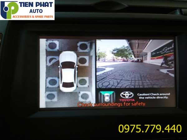 Lắp Camera 360 Độ Ô Tô Hồng Ngoại HD Giá Rẻ Tại Tp.Hcm