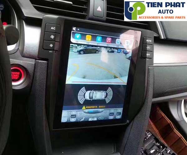 Lắp Đặt Màn Hình  DVD Tesla Cho Honda Civic 2016-2018 Tại Tp.Hcm