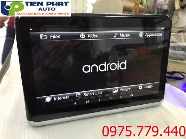 Lắp Màn Hình Gối Đầu 10,5 Inch Chạy Android Ô Tô Tại Tp.Hcm